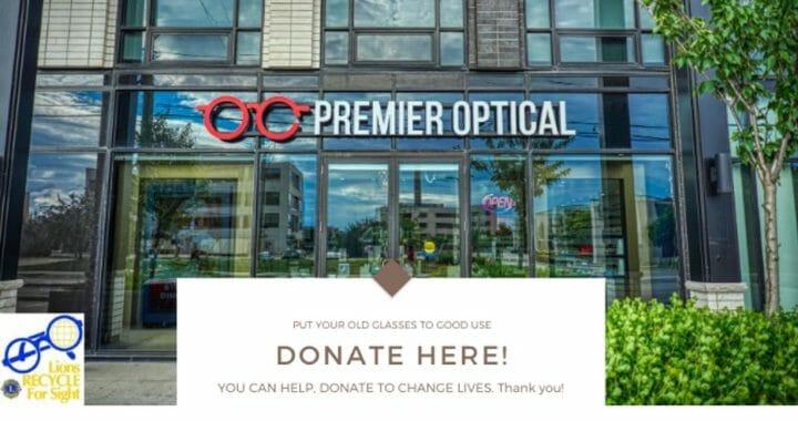 donate here premier optical